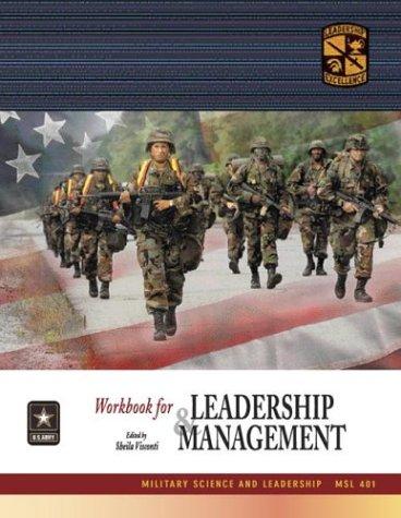 9780072840551: MSL 401 Leadership and Management Workbook