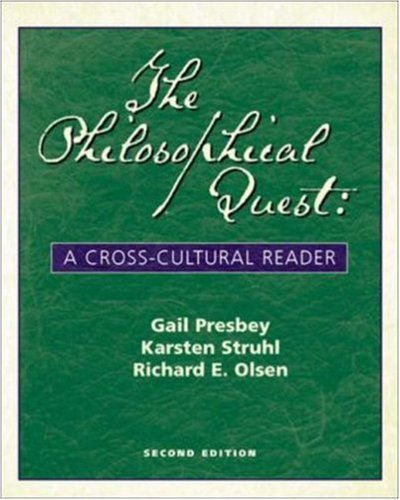 9780072840698: The Philosophical Quest: A Cross-Cultural Reader with Free Philosophy PowerWeb