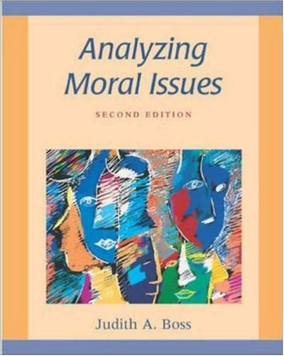 9780072840735: Analyzing Moral Issues