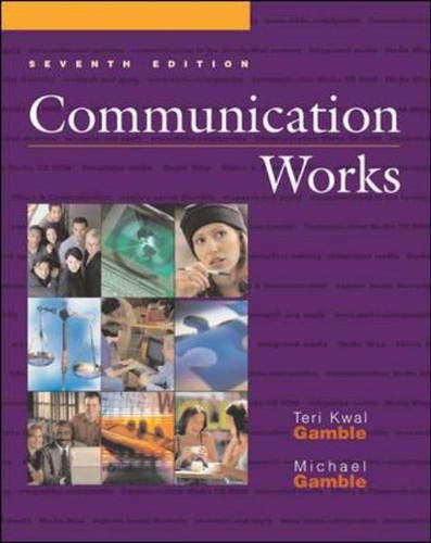 9780072840988: Communication Works with Communication Works CD-ROM 2.0, Media Enhanced Edition