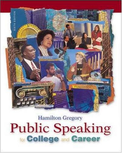 9780072840995: Public Speaking for College and Career with SpeechMate CD-ROM 2.0 and PowerWeb, Media Enhanced Edition