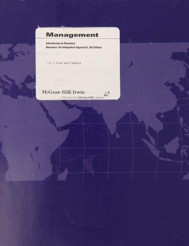 9780072841985: Business: An Integrative Approach