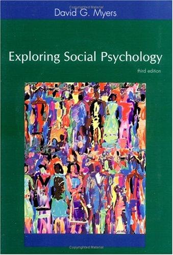 9780072842128: Exploring Social Pscyhology
