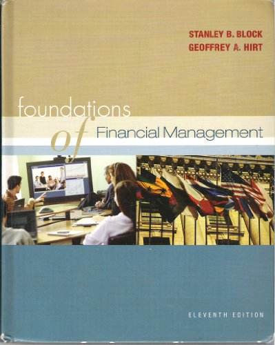 9780072842296: Foundations of Financial Management (The Mcgraw-Hill/Irwin Series in Finance, Insurance, and Real Estate)