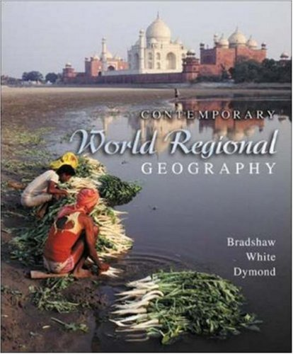 9780072842951: Contemporary World Regional Geography w/Interactive World Issues CD-ROM