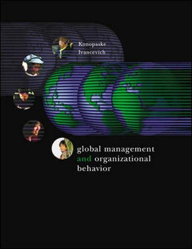 9780072843064: Global Management and Organizational Behavior