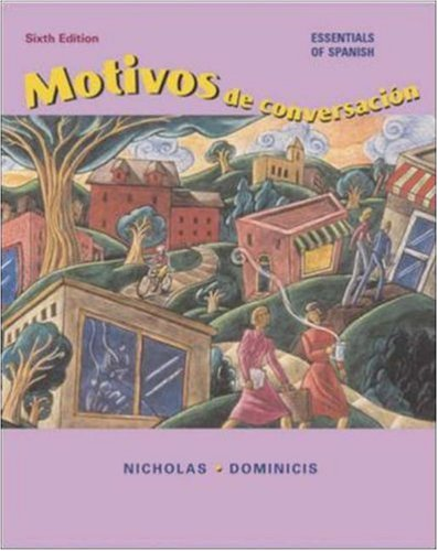9780072843316: Motivos de conversacion with Listening Comprehension CD and Student CD-ROM