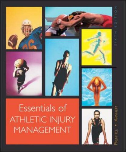 9780072843675: Essentials of Athletic Injury Management