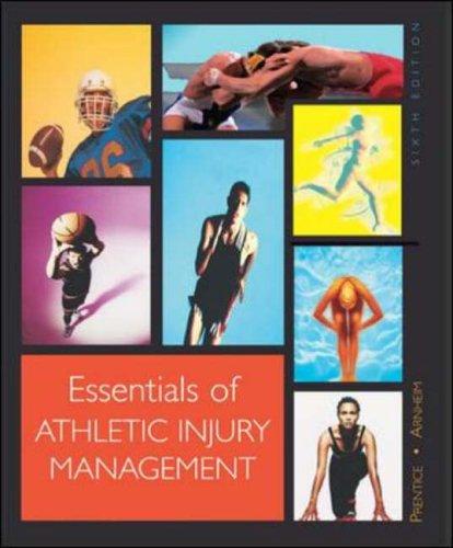 9780072843675: Essentials of Athletic Injury Management