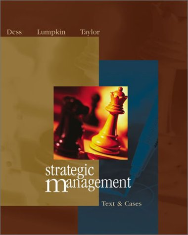 9780072843828: Strategic Management: Text and Cases