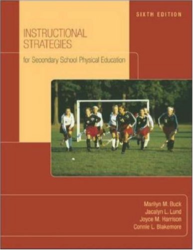 9780072844139: Instructional Strategies for Secondary School Physical Education