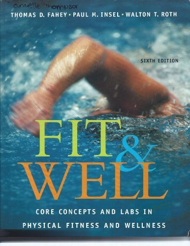 9780072844221: Fit & Well