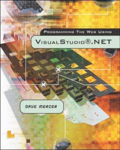 9780072844528: Programming the Web Using Visual Studio .NET w/Student CD