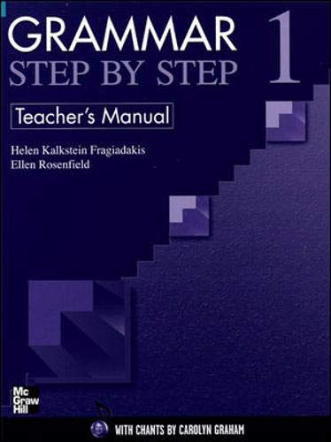 9780072845211: GRAMMAR STEP BY STEP TEACHER'S MANUAL 1: Teacher's Manual Bk. 1