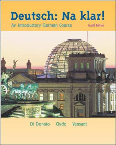 9780072845525: Deutsch: Na klar! An Introductory German Course, 4th Edition (English and German Edition)