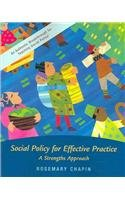 9780072845822: Social Policy for Effective Practice: A Strengths Approach (New Directions in Social Work)