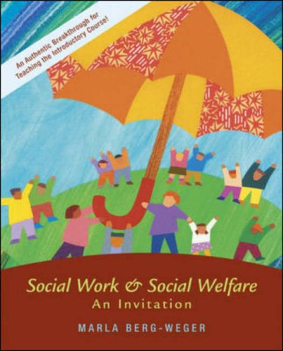 9780072845945: Social Work and Social Welfare: An Invitation (New Directions in Social Work)