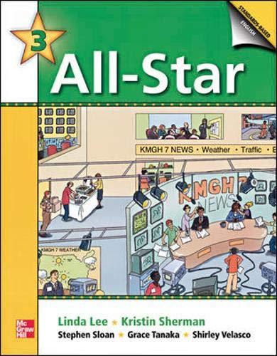 9780072846829: All Star 3 Audiocassettes (4) (Bk. 3)