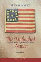 9780072846942: The Unfinished Nation To 1877 - Student Edition