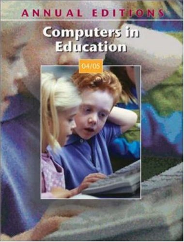 9780072847154: Annual Editions: Computers in Education 04/05