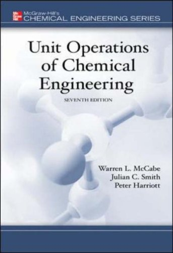 9780072848236: Unit Operations of Chemical Engineering (Chemical Engineering Series)