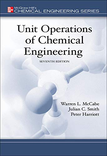 9780072848236: Unit Operations of Chemical Engineering (7th edition)(McGraw Hill Chemical Engineering Series)