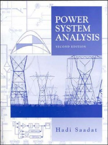 9780072848694: Power Systems Analysis