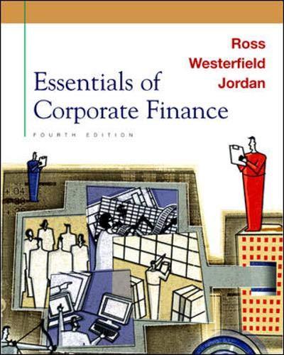 Essentials of Corporate Finance + Self Study: Stephen A. Ross,
