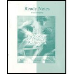 9780072849622: Ready Notes t/a The Psychology of Physical Activity