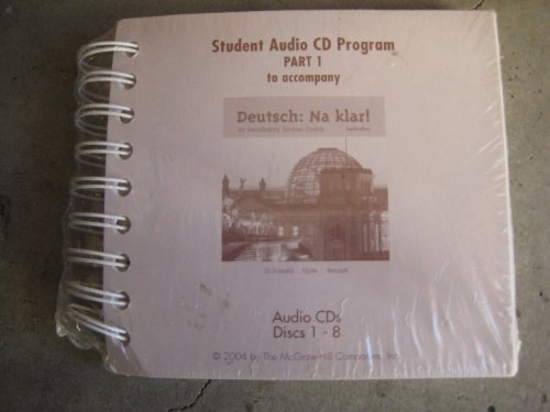 9780072849844: Student Audio CD Program Part 1 to accompany Deutsch: Na klar! An Introductory German Course (Pt. 1) (German Edition)