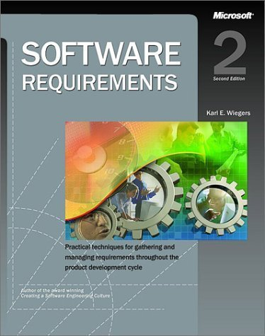9780072850598: Software Requirements (2nd, 03) by Wiegers, Karl [Paperback (2003)]