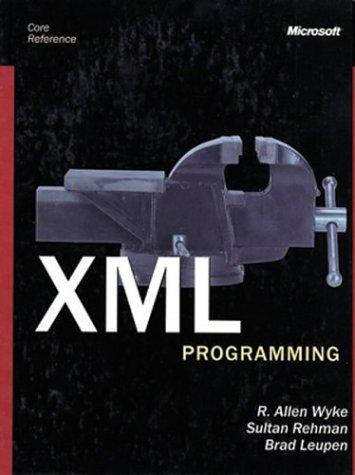 9780072850970: Xml Programming Core Reference