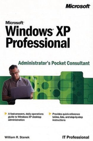 9780072851069: Microsoft Windows Xp Professional Administrator's Pocket Consultant