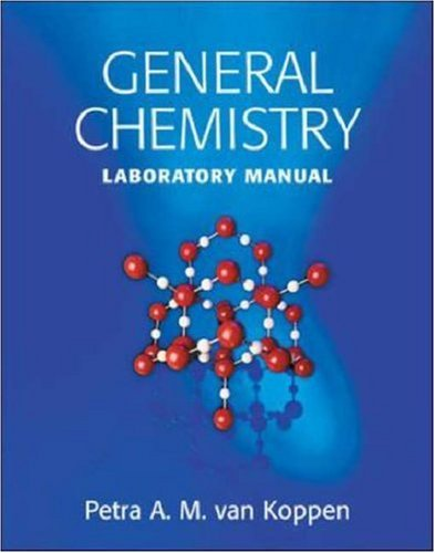 9780072851137: General Chemistry Laboratory Manual