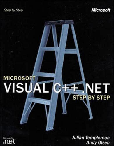 9780072851250: Microsoft Visual C++ .Net Step by Step