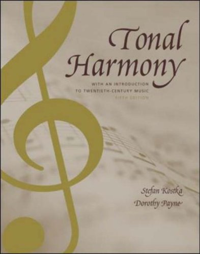 9780072852608: Tonal Harmony, with an Introduction to Twentieth-Century Music