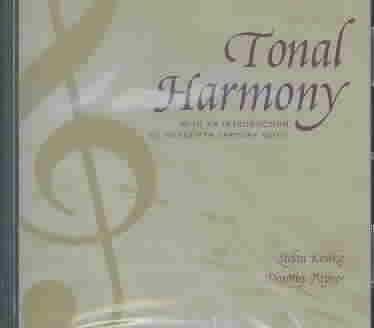 9780072852622: Audio CD/Tonal Harmony