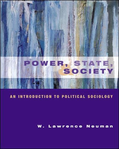 9780072853803: Power, State and Society: An Introduction to Political Sociology