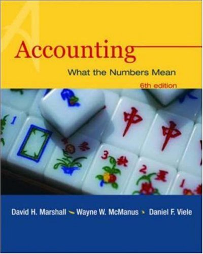 9780072854367: Accounting: What the Numbers Mean with Student Study Resource, PowerWeb & NetTutor Package