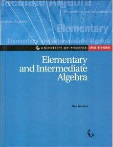 9780072855432: Elementary and Intermediate Algebra Special Edition Series for University of Phoenix with ALEKS