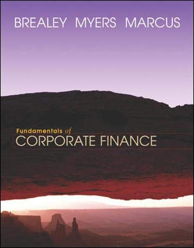 9780072855579: Fundamentals of Corporate Finance + Student CD-ROM + Powerweb + Standard&Poor's Educational Version of Market Insight