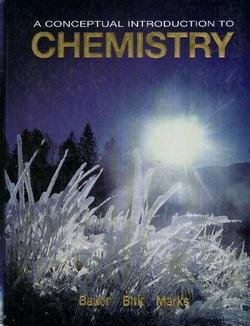 9780072857689: A Conceptual Introduction to Chemistry