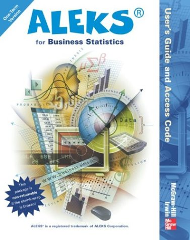 9780072857757: ALEKS for Business Statistics User's Guide and Access Code (Stand Alone for 1 Semester)