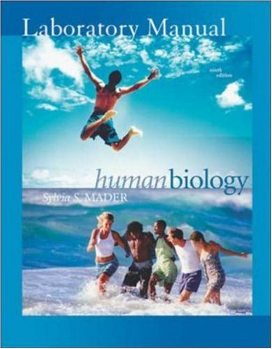 9780072857993: Lab Manual t/a Human Biology