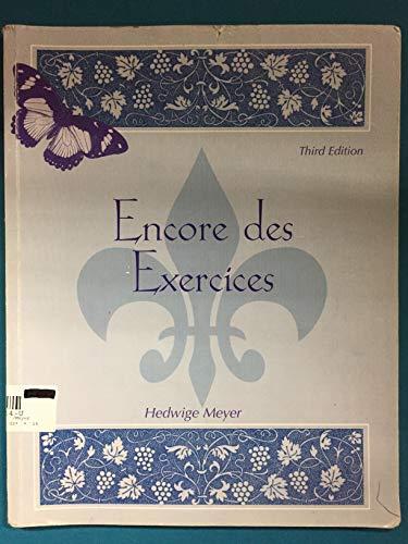 9780072858143: Encore Des Exercices - Third Edition