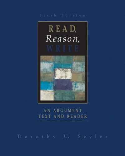 9780072858181: Read, Reason, Write with APA Update
