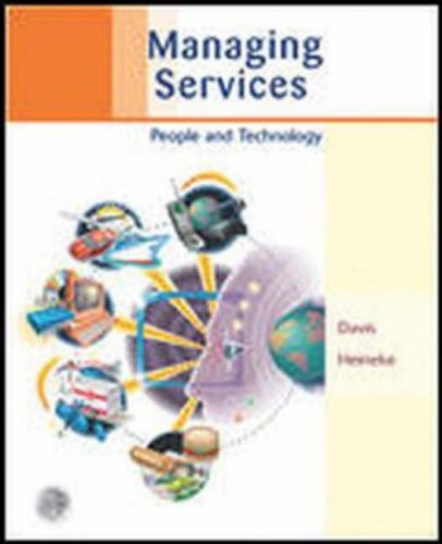 9780072858198: Managing Services: Using Technology to Create Value