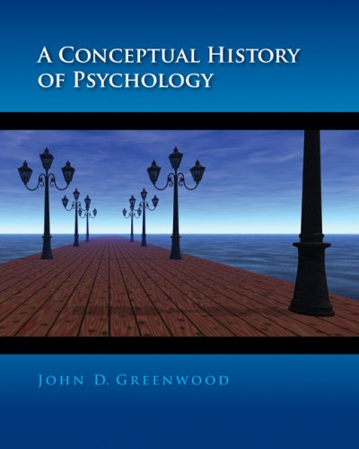 9780072858624: A Conceptual History of Psychology