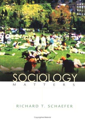 9780072859164: Sociology Matters (NAI)