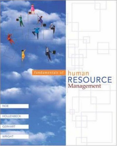 Fundamentals of Human Resource Management with CD: Raymond Andrew Noe,